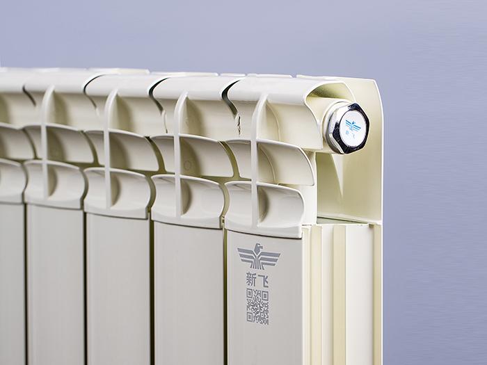 新飞铜铝复合80X80防熏墙(单面弧)暖气片