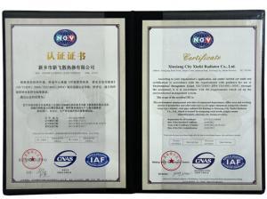 NGV环境管理体系认证证书